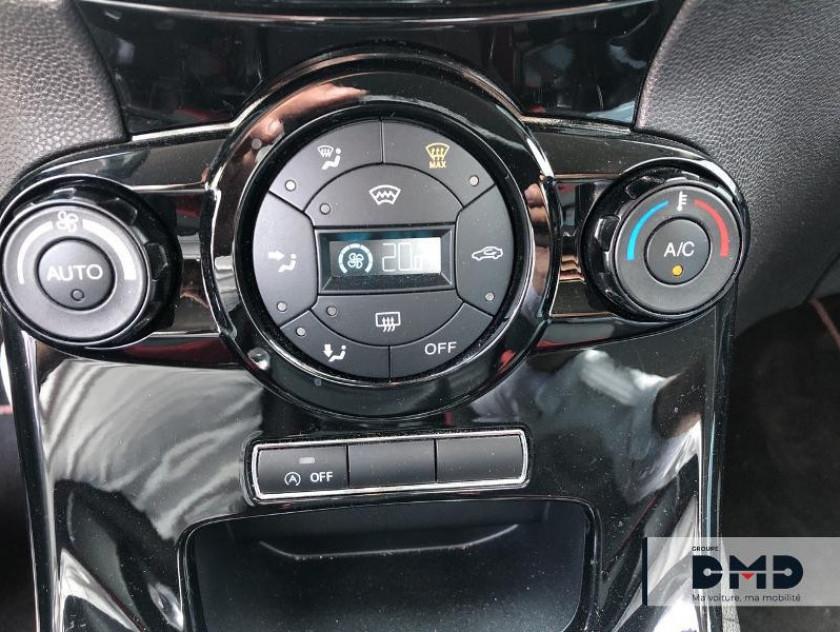 Ford Fiesta 1.0 Ecoboost 140ch Stop&start Black Edition 3p - Visuel #11