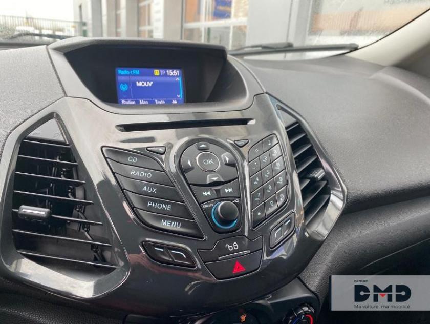 Ford Ecosport 1.5 Tdci 95ch Fap Titanium - Visuel #6