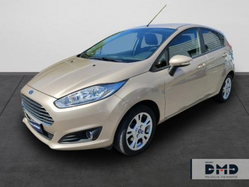 Ford Fiesta 1.0 Ecoboost 100ch Stop&start Edition 5p - Visuel #1
