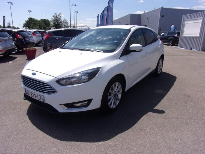 Ford Focus 1.0 Ecoboost 100ch Stop&start Titanium - Visuel #1