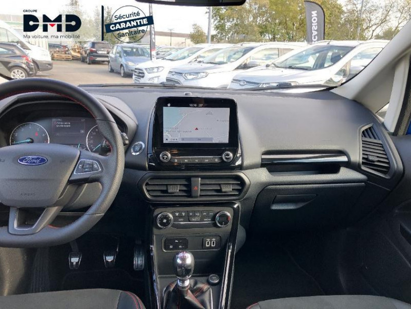Ford Ecosport 1.0 Ecoboost 125ch St-line Euro6.2 - Visuel #5