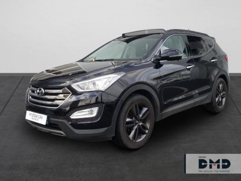 Hyundai Santa Fe 2.2 Crdi 197ch 4wd Executive Bva - Visuel #1