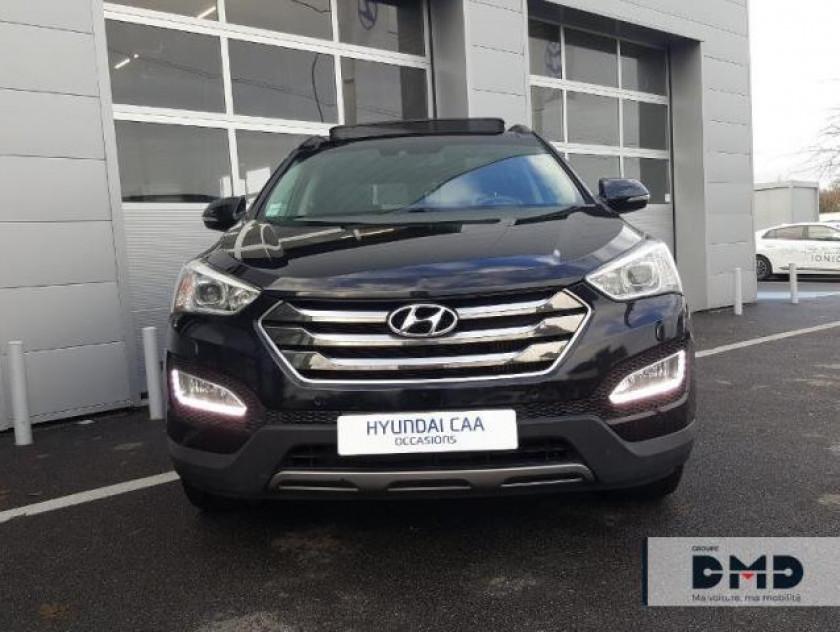 Hyundai Santa Fe 2.2 Crdi 197ch 4wd Executive Bva - Visuel #4