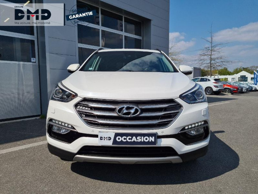 Hyundai Santa Fe 2.2 Crdi 200ch 4wd Creative Bva - Visuel #4