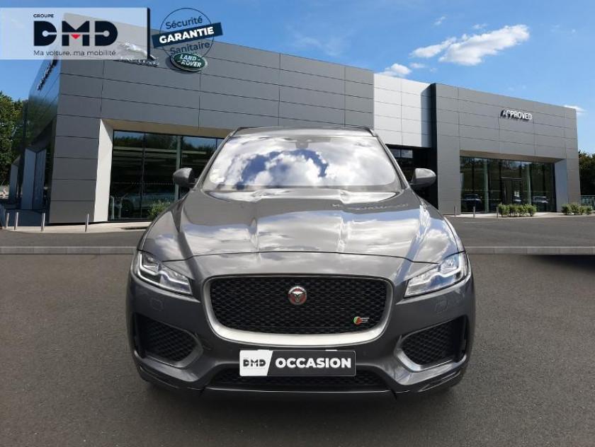 Jaguar F-pace V6 3.0d 300ch S 4x4 Bva8 - Visuel #4