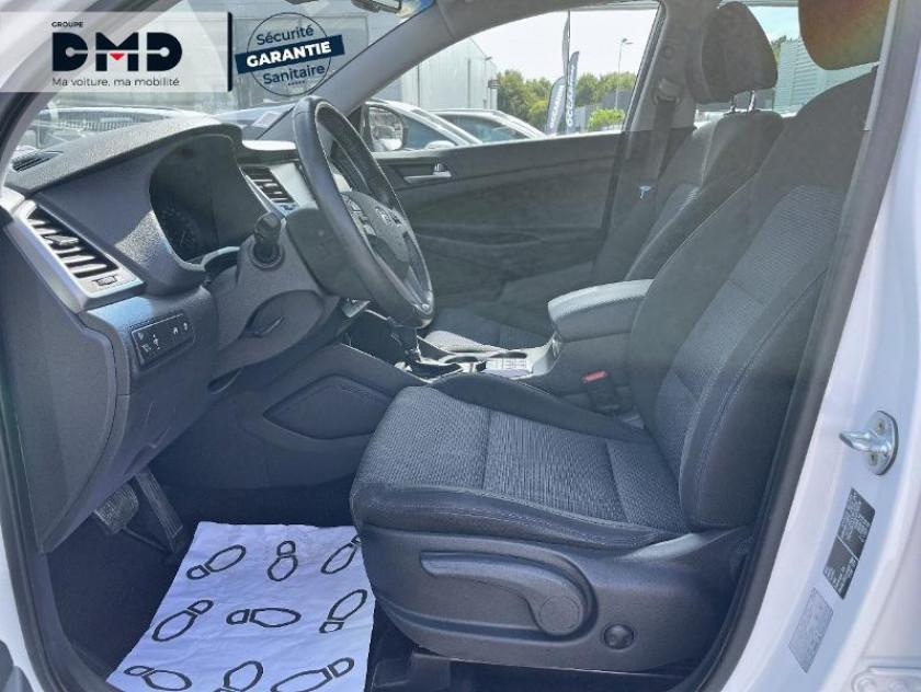Hyundai Tucson 1.7 Crdi 141ch Creative 2wd Dct-7 - Visuel #9