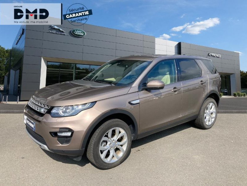 Land Rover Discovery Sport 2.0 Td4 180ch Awd Hse Mark Ii - Visuel #1