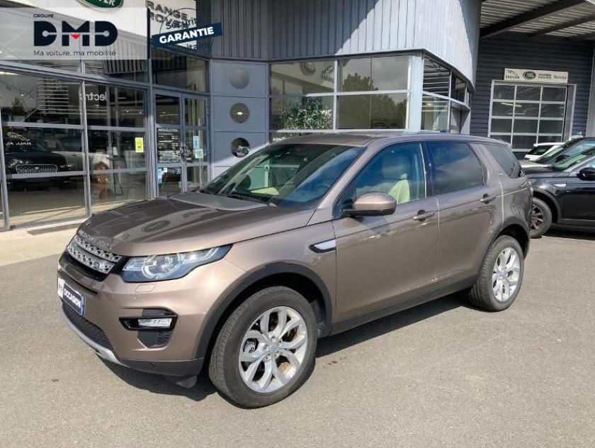 Land Rover Discovery Sport 2.0 Td4 180ch Awd Hse Mark Ii - Visuel #14