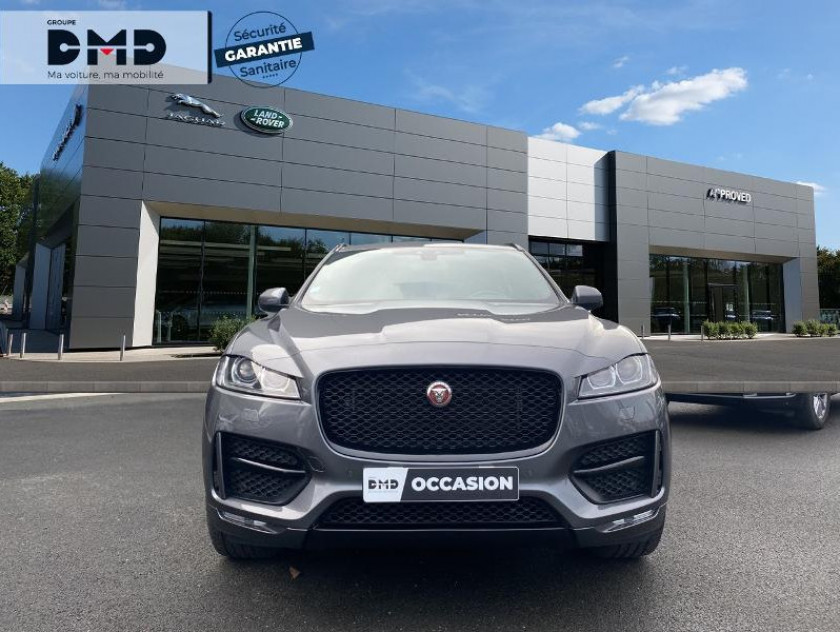 Jaguar F-pace 2.0d 180ch R-sport Bva8 - Visuel #4
