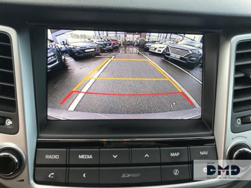 Hyundai Tucson 1.7 Crdi 141ch Creative 2wd Dct-7 - Visuel #16