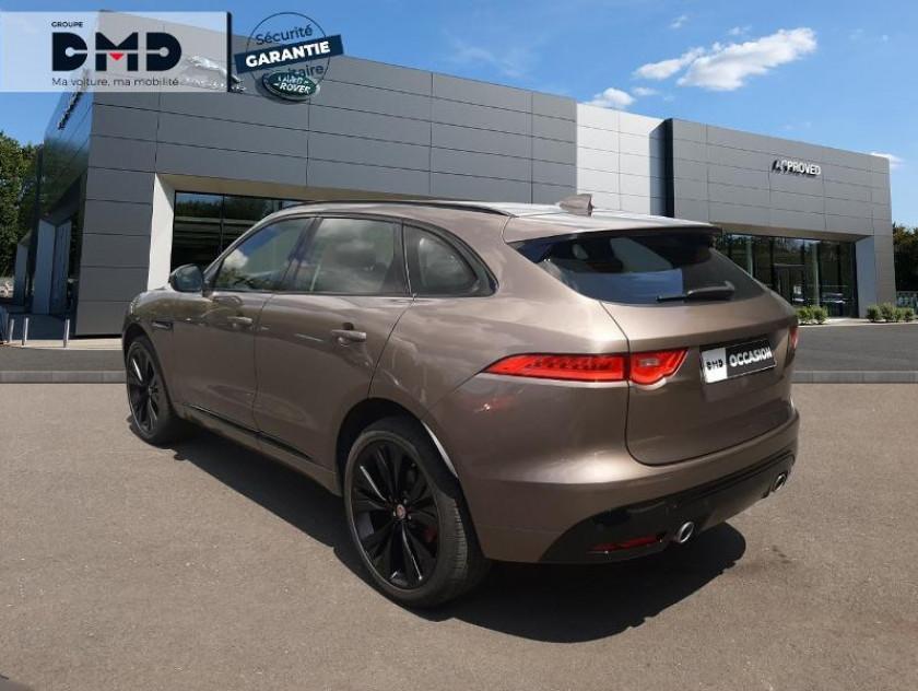 Jaguar F-pace V6 3.0d 300ch S 4x4 Bva8 - Visuel #3