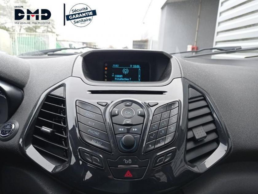 Ford Ecosport 1.5 Tdci 90ch Fap Titanium - Visuel #6