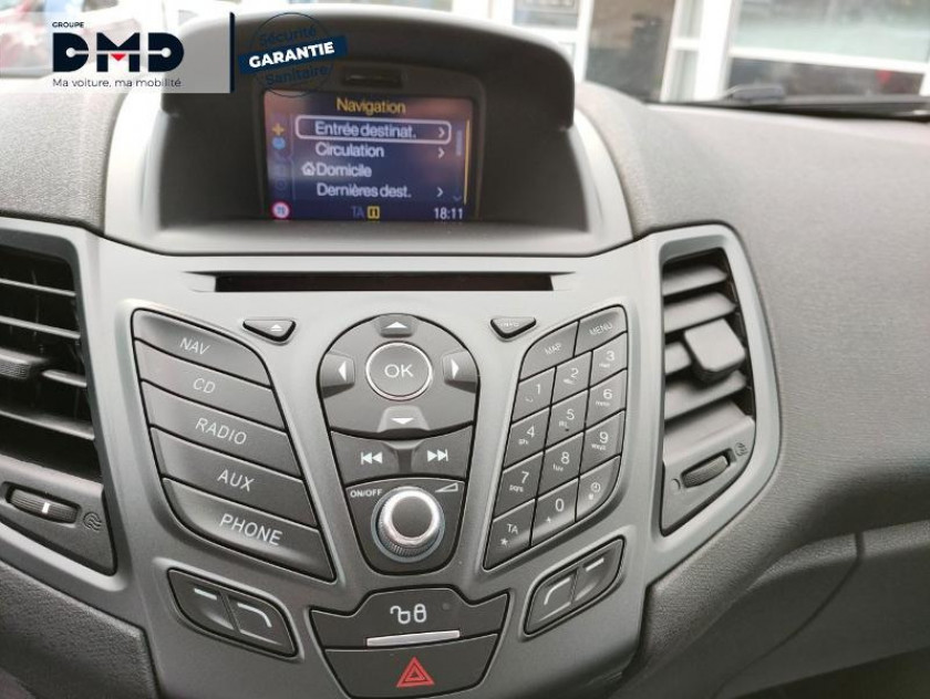 Ford Fiesta 1.5 Tdci 95ch Fap Eco Stop&start Business Nav 3p - Visuel #6