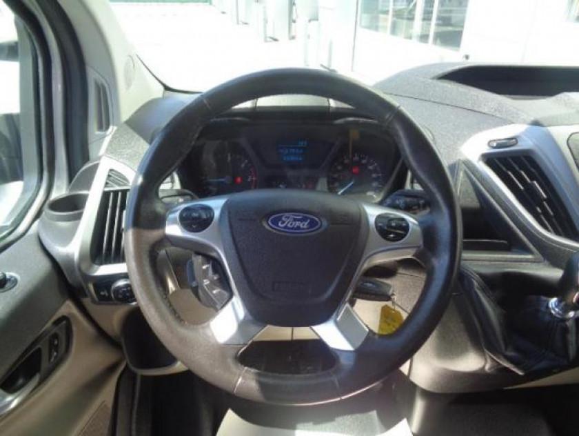 Ford Transit Custom Fg 310 L2h1 2.0 Tdci 130 Cabine Approfondie Trend Business - Visuel #6