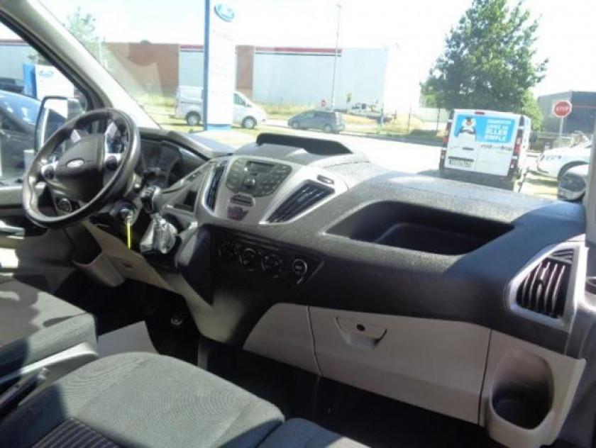 Ford Transit Custom Fg 310 L2h1 2.0 Tdci 130 Cabine Approfondie Trend Business - Visuel #2