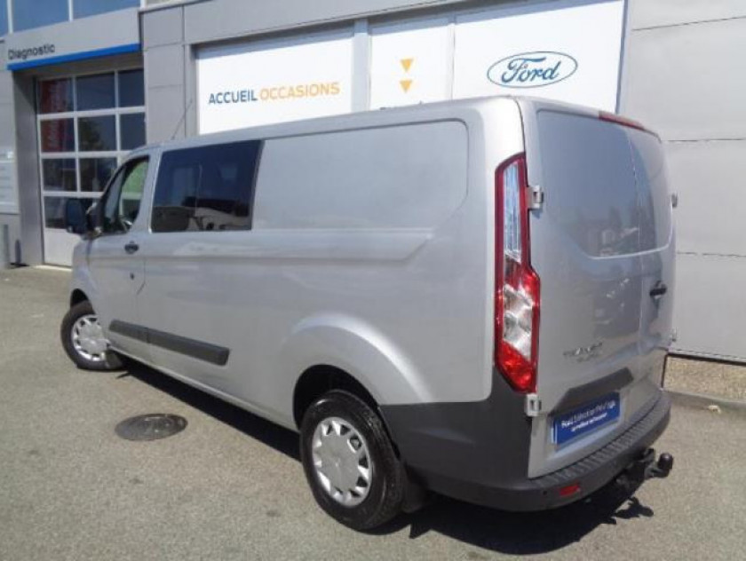 Ford Transit Custom Fg 310 L2h1 2.0 Tdci 130 Cabine Approfondie Trend Business - Visuel #3