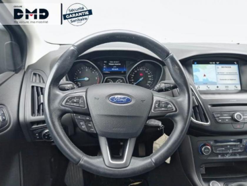 Ford Focus 1.5 Tdci 105ch Econetic Stop&start Business Nav - Visuel #7