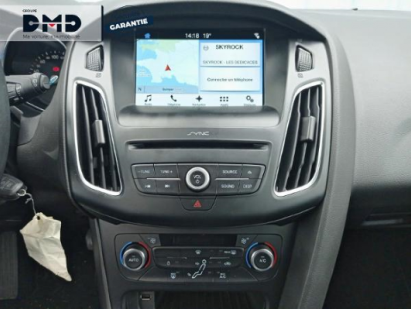 Ford Focus 1.5 Tdci 105ch Econetic Stop&start Business Nav - Visuel #6