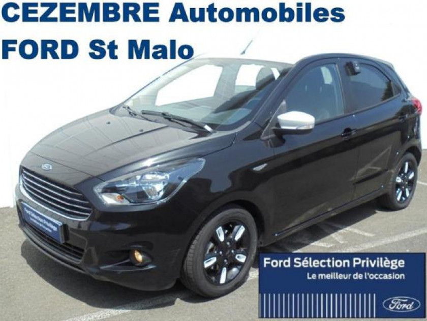 Ford Ka+ 1.2 Ti-vct 85ch Black Edition - Visuel #1