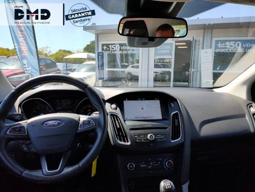 Ford Focus 1.0 Ecoboost 100ch Stop&start Sync Edition - Visuel #5
