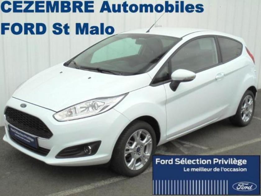Ford Fiesta 1.0 Ecoboost 100ch Stop&start Edition 3p - Visuel #1