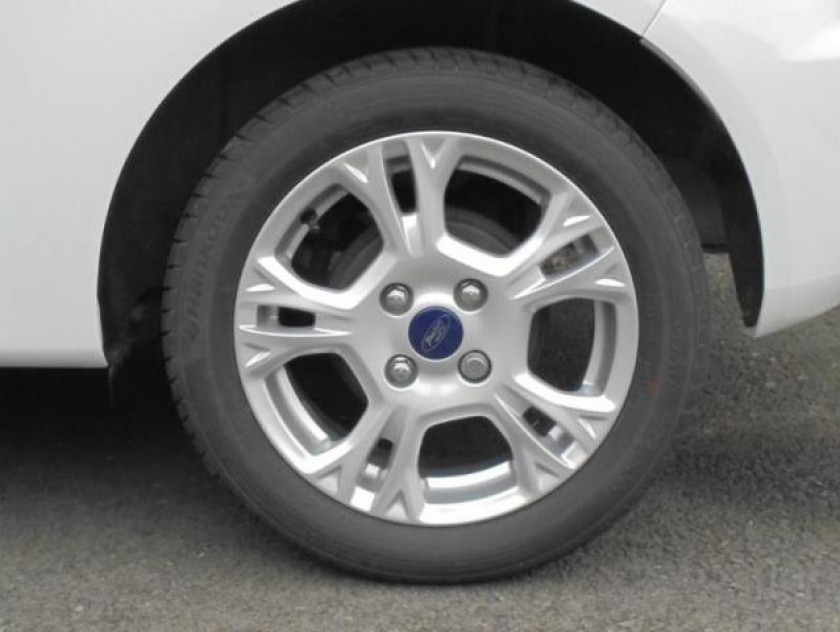 Ford Fiesta 1.0 Ecoboost 100ch Stop&start Edition 3p - Visuel #10