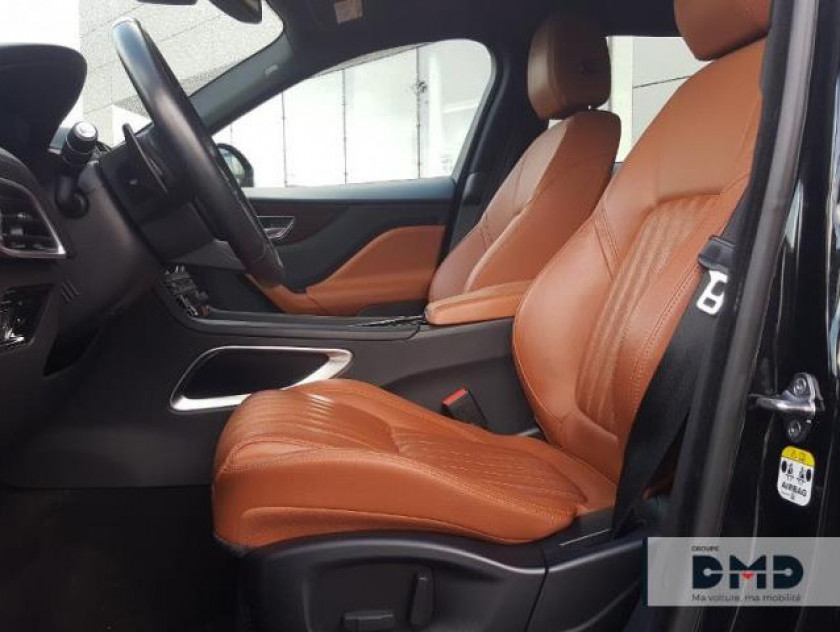 Jaguar F-pace V6 3.0d 300ch Portfolio 4x4 Bva8 - Visuel #9