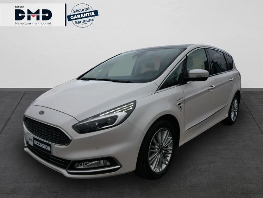 Ford S-max 2.0 Tdci 180ch Stop&start Vignale Powershift - Visuel #1