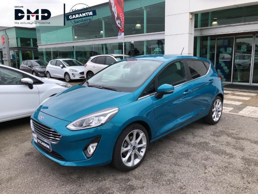 Ford Fiesta 1.0 Ecoboost 100ch Stop&start B&o Play First Edition 5p - Visuel #14