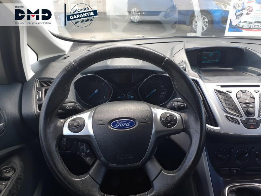 Ford C-max 1.6 Tdci 95ch Fap Edition - Visuel #7