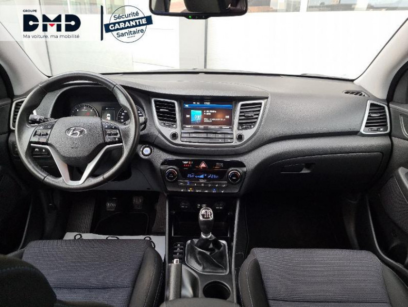 Hyundai Tucson 1.7 Crdi 115ch Creative 2wd - Visuel #5