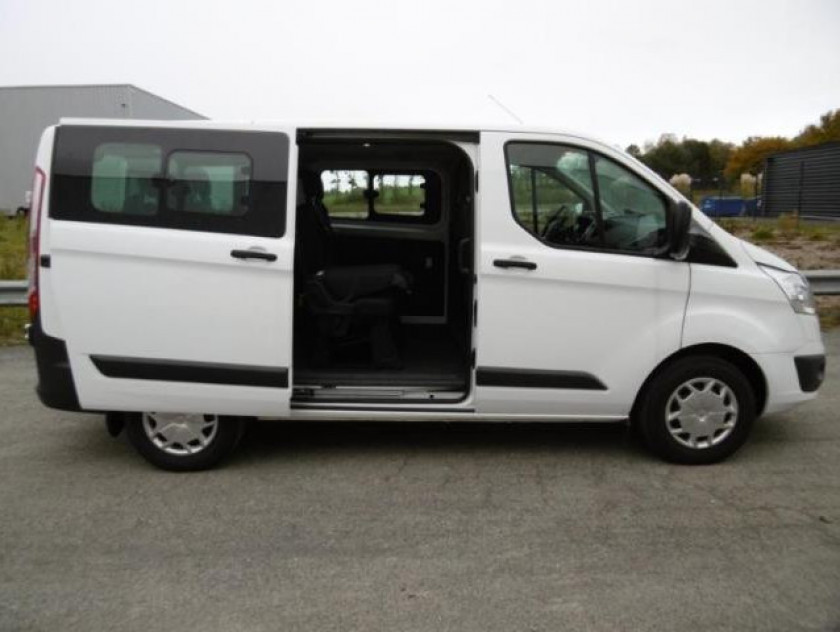 Ford Transit Custom Kombi 310 L1h1 2.0 Tdci 105ch Trend Business - Visuel #3