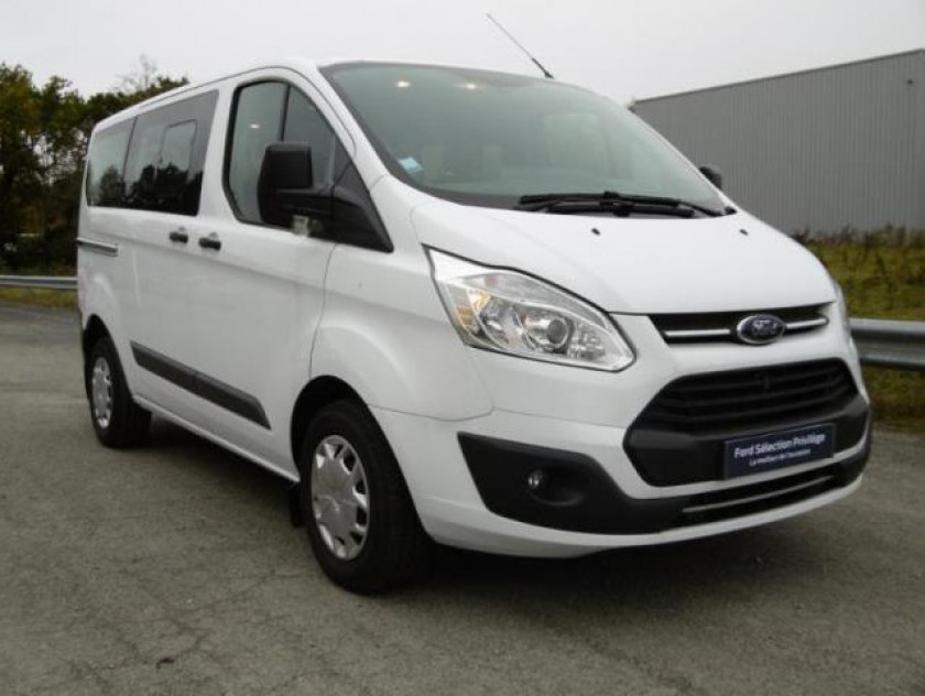 Ford Transit Custom Kombi 310 L1h1 2.0 Tdci 105ch Trend Business - Visuel #1