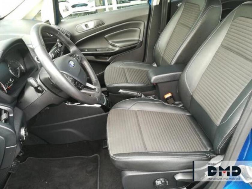 Ford Ecosport 1.0 Ecoboost 125ch Titanium Bva6 - Visuel #9