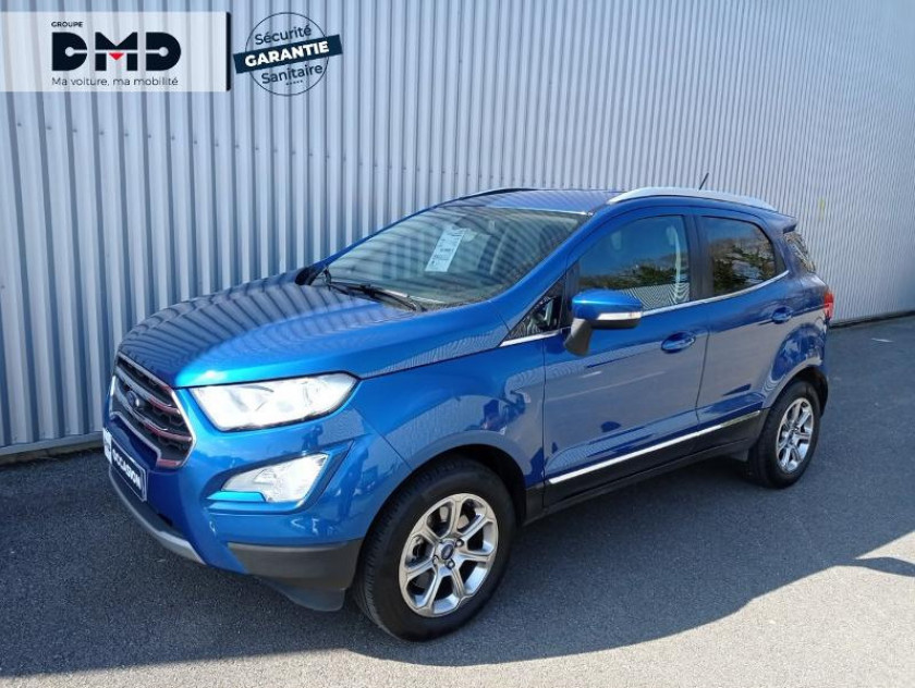 Ford Ecosport 1.0 Ecoboost 125ch Titanium - Visuel #15
