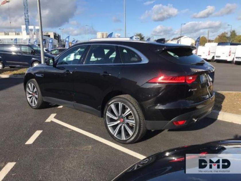 Jaguar F-pace 2.0t 250ch Portfolio 4x4 Bva8 - Visuel #3