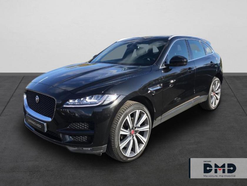 Jaguar F-pace 2.0t 250ch Portfolio 4x4 Bva8 - Visuel #1