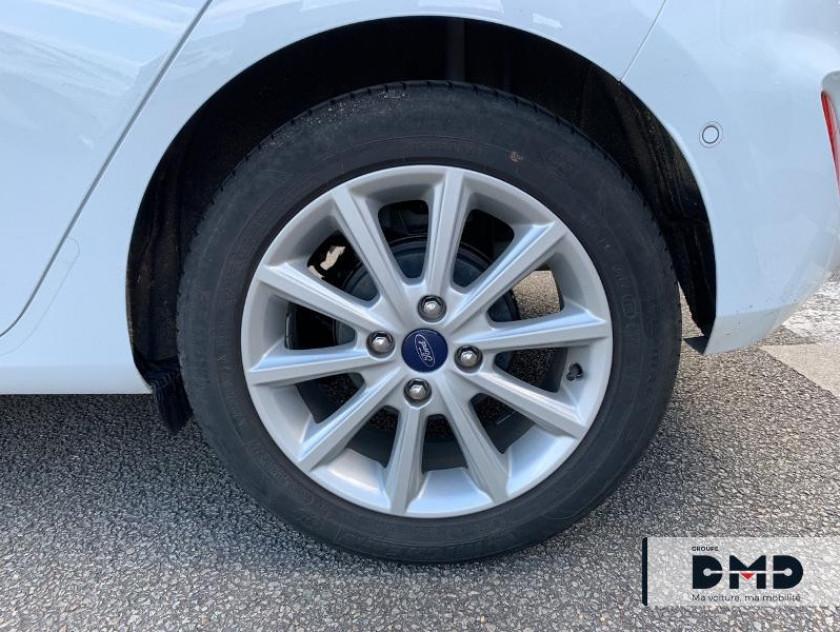 Ford Fiesta 1.0 Ecoboost 100ch Stop&start Titanium Bva 5p Euro6.2 - Visuel #13