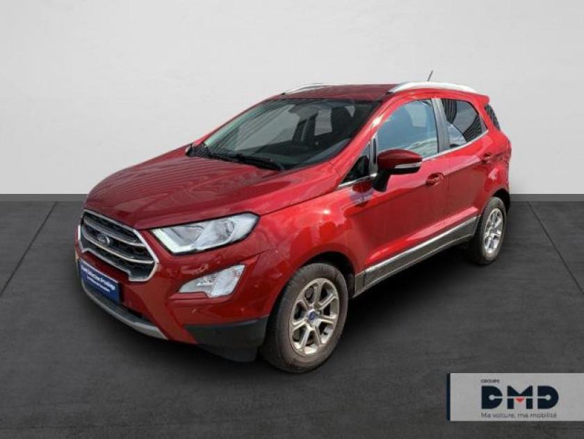 Ford Ecosport 1.0 Ecoboost 125ch Titanium Bva6 - Visuel #22