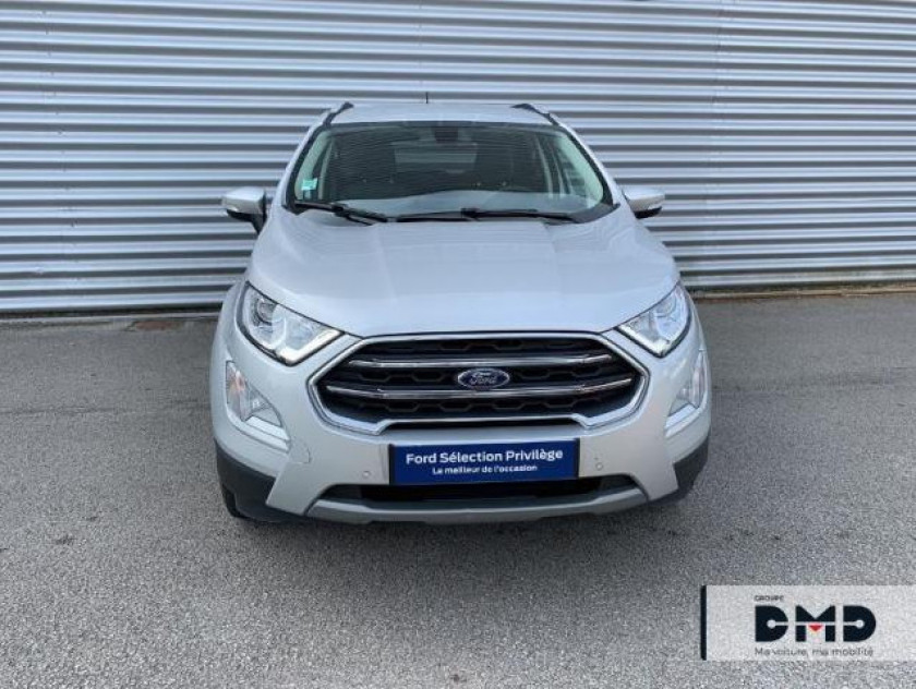 Ford Ecosport 1.0 Ecoboost 125ch Titanium Business Bva6 - Visuel #4