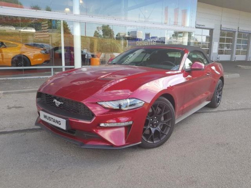Ford Mustang Convertible 2.3 Ecoboost 317ch - Visuel #2