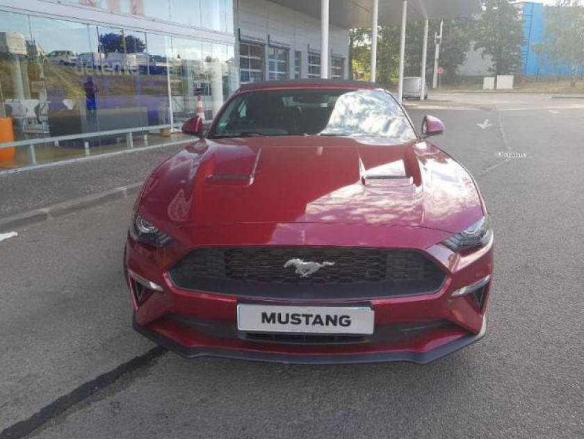 Ford Mustang Convertible 2.3 Ecoboost 317ch - Visuel #3
