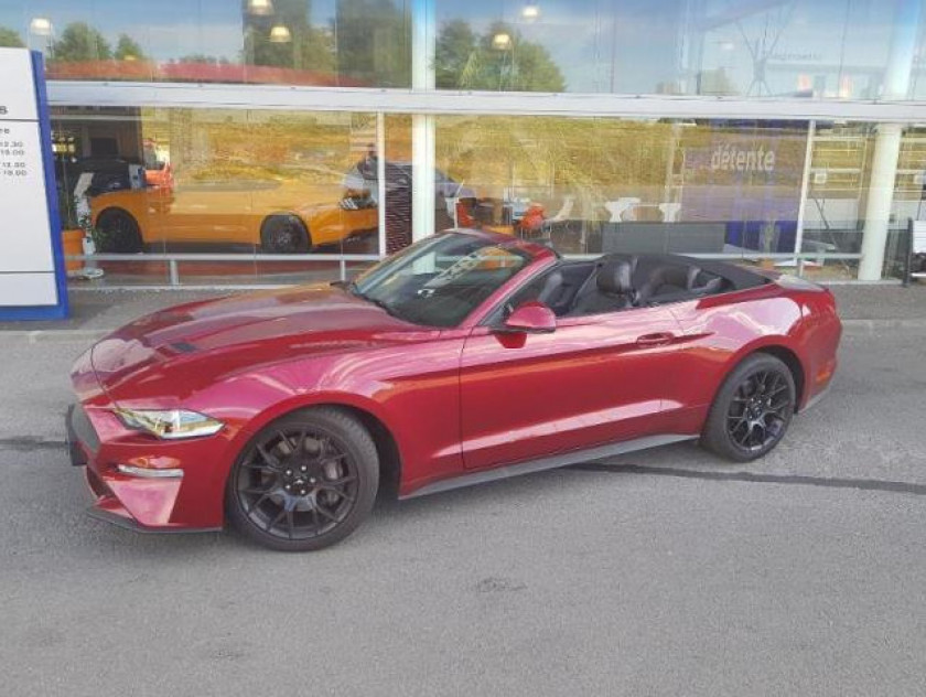 Ford Mustang Convertible 2.3 Ecoboost 317ch - Visuel #6