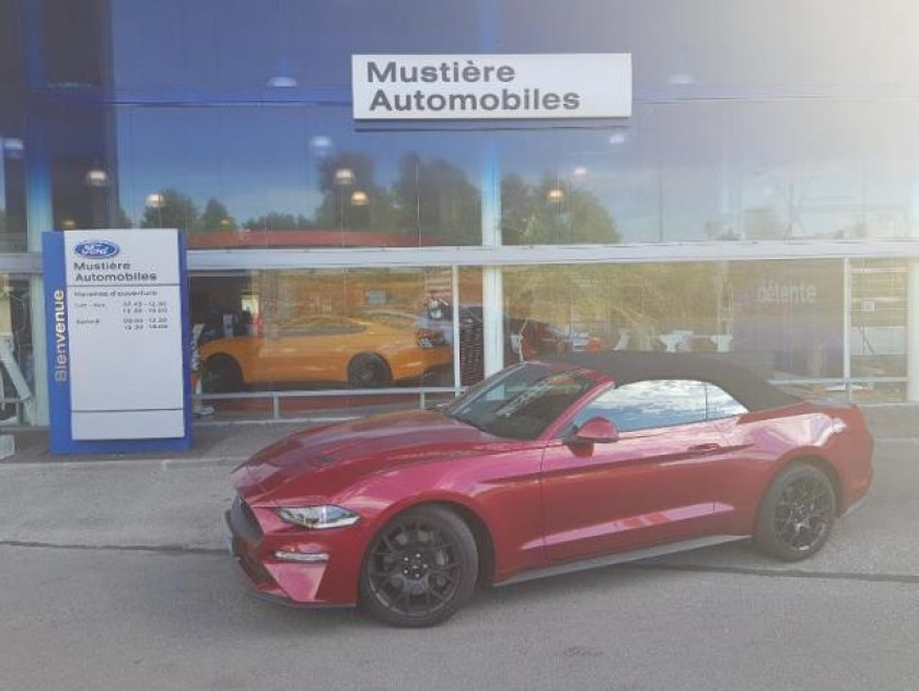 Ford Mustang Convertible 2.3 Ecoboost 317ch - Visuel #1