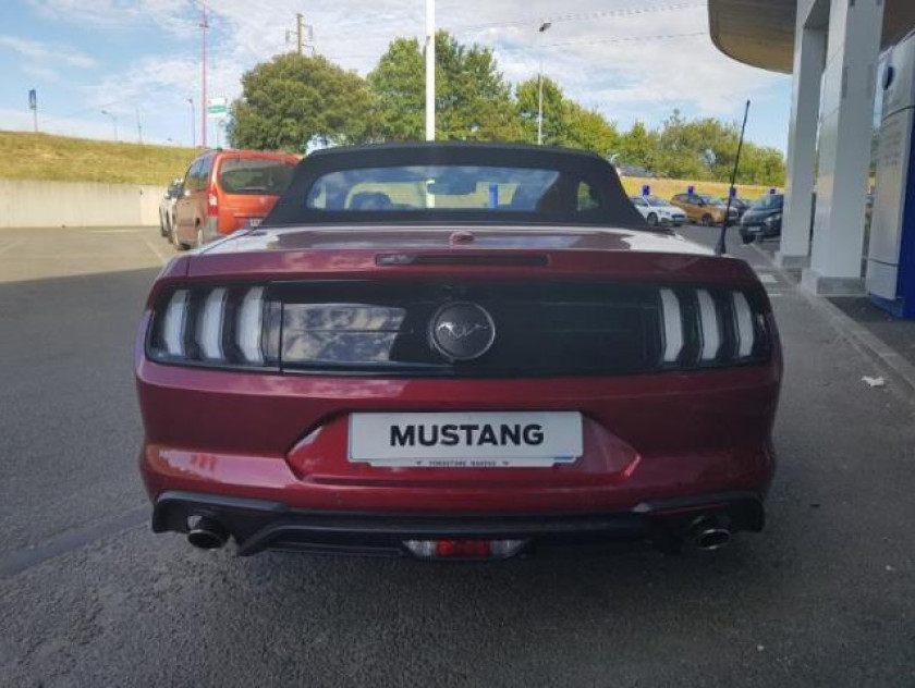 Ford Mustang Convertible 2.3 Ecoboost 317ch - Visuel #4