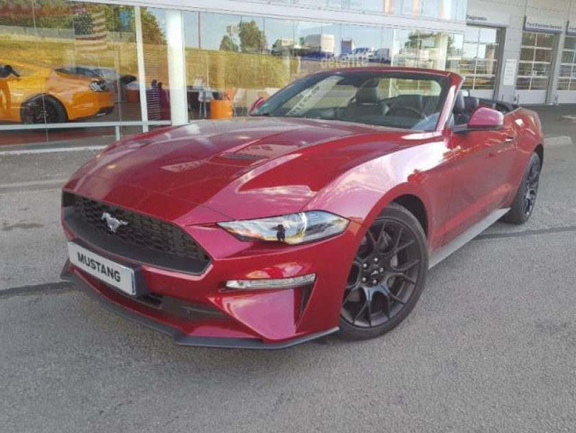 Ford Mustang Convertible 2.3 Ecoboost 317ch - Visuel #5