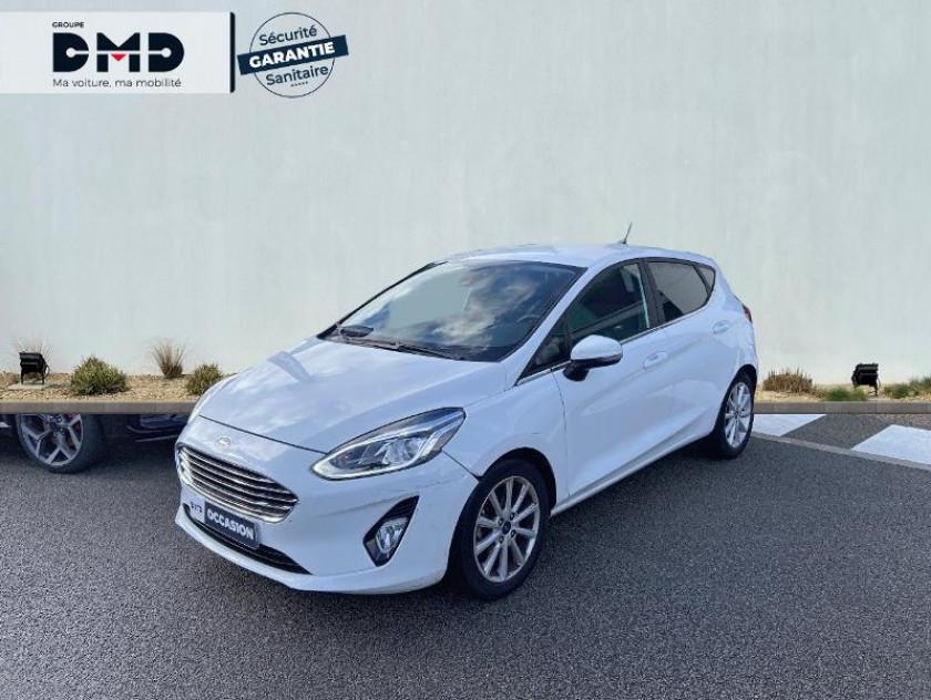 Ford Fiesta 1.0 Ecoboost 100ch Stop&start Titanium Bva 5p - Visuel #1