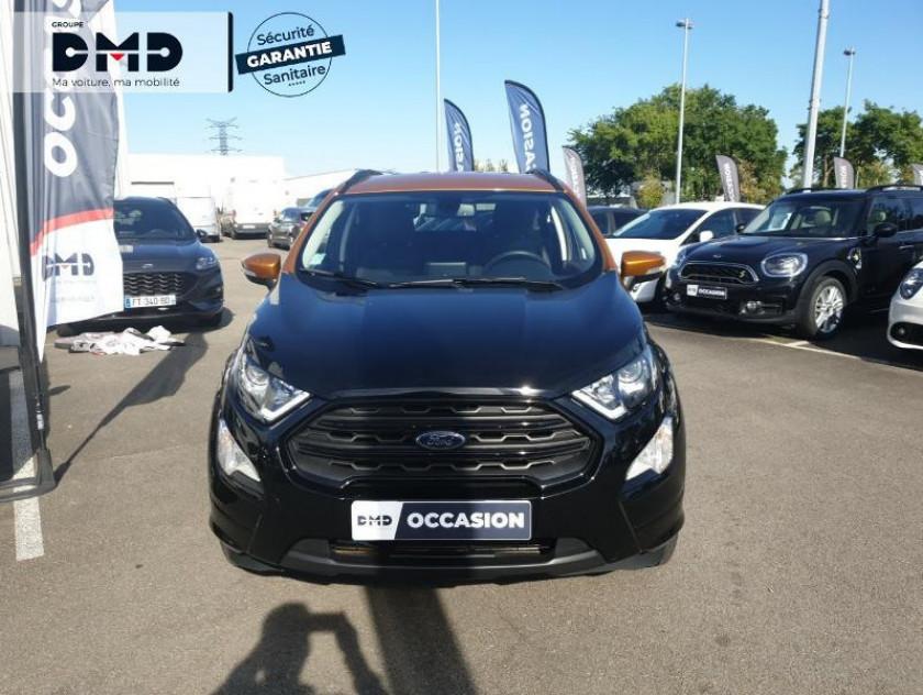 Ford Ecosport 1.0 Ecoboost 125ch St-line Noir/tiger - Visuel #4