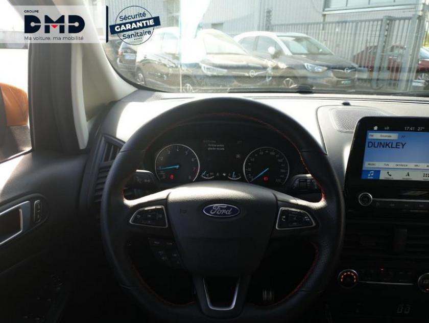 Ford Ecosport 1.0 Ecoboost 125ch St-line Noir/tiger - Visuel #7