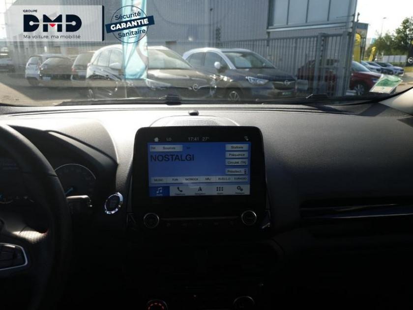 Ford Ecosport 1.0 Ecoboost 125ch St-line Noir/tiger - Visuel #6